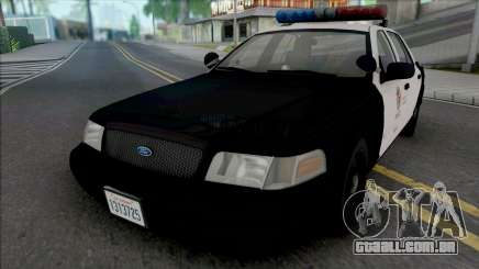 Ford Crown Victoria 2000 CVPI LAPD PMF para GTA San Andreas