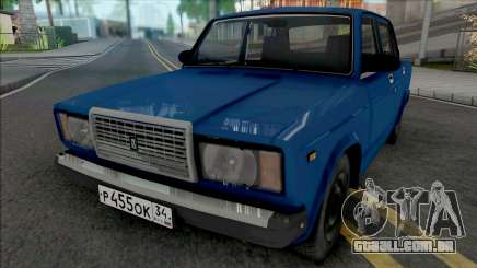 VAZ-2107 2007 para GTA San Andreas