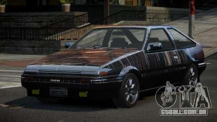 Toyota Corolla AE86 Qz PJ2 para GTA 4