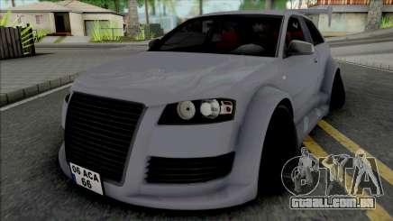 Audi A3 Heavy Tuning para GTA San Andreas