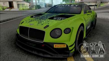 Bentley Continental GT3 2020 para GTA San Andreas