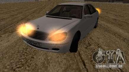 Mercedes-Benz S600 RUS Plates para GTA San Andreas