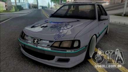 Peugeot Pars ELX Sport Moharami para GTA San Andreas