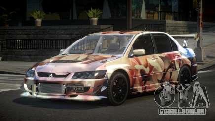Mitsubishi Lancer Evolution VIII PSI S2 para GTA 4