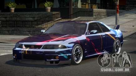 Nissan Skyline R33 PS-I S1 para GTA 4