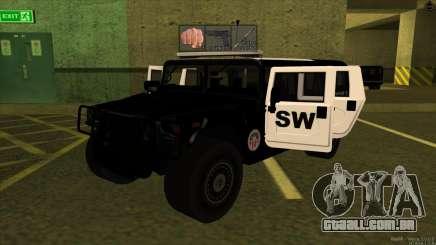 1992 Hummer H1 - LSPD SWAT para GTA San Andreas