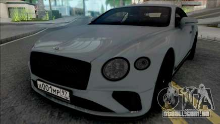 Bentley Continental GT 2021 para GTA San Andreas