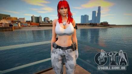 Leona 4 - White 1 para GTA San Andreas