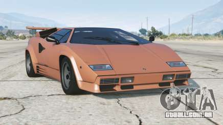 Lamborghini Countach LP5000 S Quattrovalvole 1985〡add-on v1.2 para GTA 5