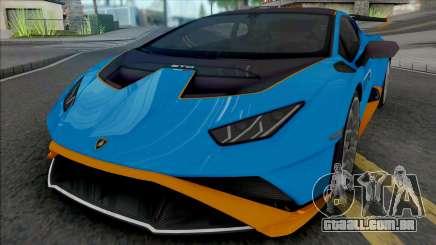 Lamborghini Huracan STO 2021 [HQ] para GTA San Andreas