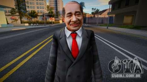 Dead Or Alive 5 - Train Man 3 para GTA San Andreas
