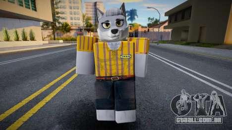 Roblox IKEA Work Wolf para GTA San Andreas