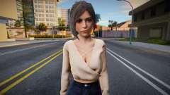 Ada Wong v3 (good skin) para GTA San Andreas