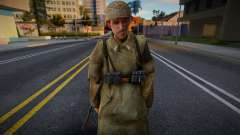 Call of Duty 2 German Skin 3 para GTA San Andreas