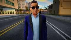 New Wuzimu Casual V2 Woozie Outfit Casino And Re para GTA San Andreas