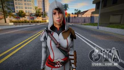 Assassins Creed Chronicles: Shao Jun Ezio Outfit para GTA San Andreas