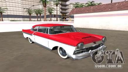 Ford Custom 1956 Coupe (Smith Custom Mafia II) para GTA San Andreas