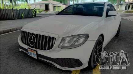 Mercedes-Benz E-Class 2020 Lowpoly para GTA San Andreas
