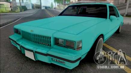 Chevrolet Caprice 1987 (2 Doors) para GTA San Andreas