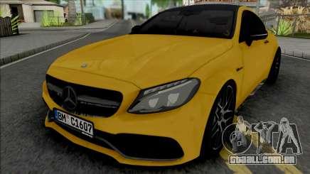 Mercedes-Benz C63 S AMG 2020 para GTA San Andreas