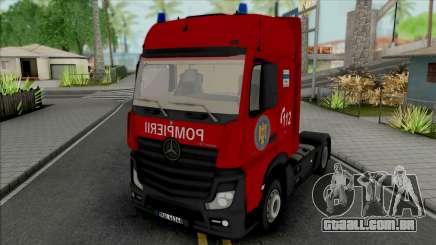 Mercedes-Benz Actros Pompierii para GTA San Andreas