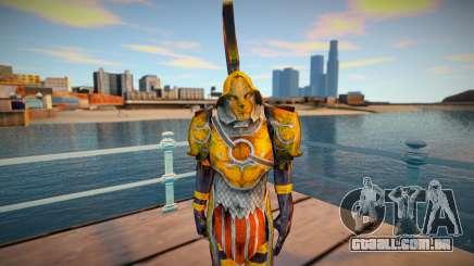 Grunt (Golden Armor) God of War 3 para GTA San Andreas