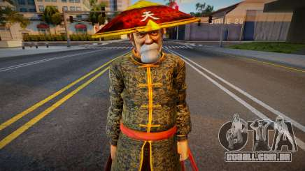 Dead Or Alive 5 - Gen Fu (Costume 2) 1 para GTA San Andreas
