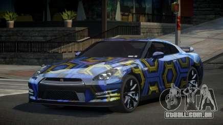 Nissan GT-R UR S5 para GTA 4