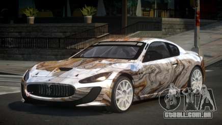 Maserati Gran Turismo US PJ7 para GTA 4