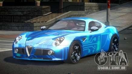 Alfa Romeo 8C Qz S8 para GTA 4