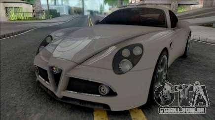Alfa Romeo 8C Competizione 2007 SA Style para GTA San Andreas