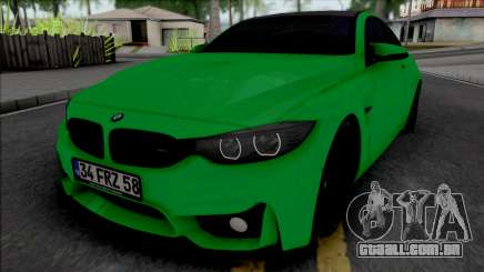 BMW 4-er F32 para GTA San Andreas