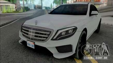 Mercedes-Benz S-Class AMG 2014 Lowpoly para GTA San Andreas