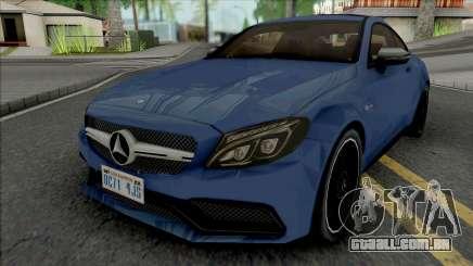 Mercedes-Benz C63 AMG Coupe para GTA San Andreas