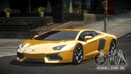 Lamborghini Aventador Zq para GTA 4