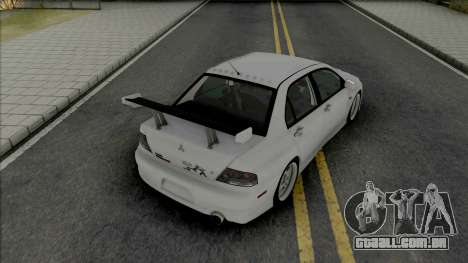 Mitsubishi Lancer Evolution IX MR Edition 2006 para GTA San Andreas