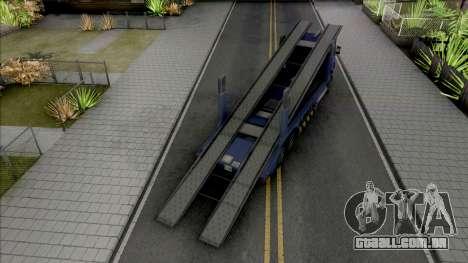 Scania R440 Packer Lowpoly para GTA San Andreas