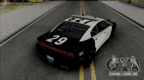 Dodge Charger 2013 LAPD para GTA San Andreas
