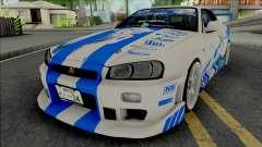 Nissan Skyline GT-R R34 1999 C-WEST Gawr Gura