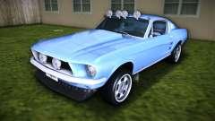 Ford Mustang 390 GT Fastback 67 para GTA Vice City