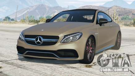 Mercedes-AMG C 63 Coupe (C205) 2016〡add-on para GTA 5