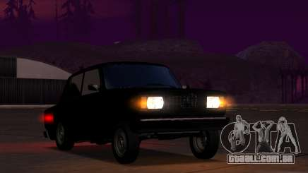 Vaz 2107 Kruq Plyonka para GTA San Andreas